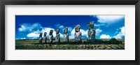 Framed Easter Island Chile