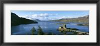 Framed Eilean Donan Castle Scotland