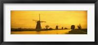 Framed Windmills Netherlands