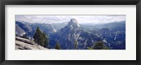 Framed Half Dome High Sierras Yosemite National Park CA