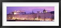 Framed Night Salzburg Austria