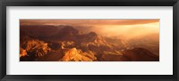 Framed Sunrise View From Hopi Point Grand Canyon AZ