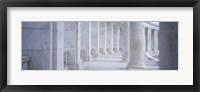 Framed Columns of a government building, Arlington, Arlington County, Virginia, USA