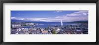 Framed Lake Geneva, Geneva, Switzerland