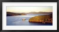 Framed San Juan Islands Washington USA