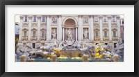 Framed Trevi Fountain Rome Italy
