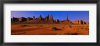 Framed Monument Valley National Park, Arizona, USA