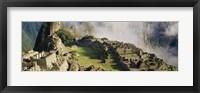 Framed Machu Picchu, Peru