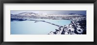 Framed High angle view of a hot spring, Iceland
