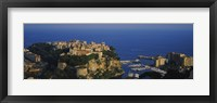 Framed High Angle View Of A City At The Waterfront, Monte Carlo, Monaco