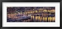 Framed Harbor, Monte Carlo, Monaco
