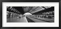 Framed Train Station, Cologne, Germany