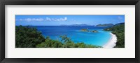 Framed Trunk Bay, St. John US Virgin Islands
