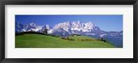 Framed Ellmau Wilder Kaiser Tyrol Austria