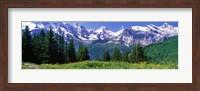 Framed Murren Switzerland