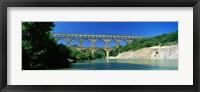 Framed Pont du Gard, Provence France