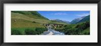 Framed Railway Bridge Switzerland