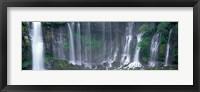 Framed Shiraito Falls, Fujinomiya, Shizuoka, Japan