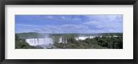 Framed Iguazu Falls Iguazu National Park Brazil