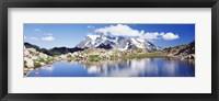 Framed Mt Baker Snoqualmie National Forest WA