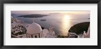 Framed View of Santorini, Greece