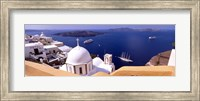 Framed View of the Caldera, Santorini, Cyclades Islands, Greece