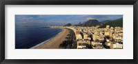 Framed High Angle View Of The Beach, Copacabana Beach, Rio De Janeiro, Brazil