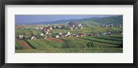 Framed Buildings in a town, Kluszkowce, Tatra Mountains, Poland