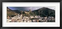 Framed Buildings on a hillside, Cazorla, Andalucia, Spain