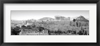 Framed High Angle View Of Buildings In A City, Parthenon, Acropolis, Athens, Greece