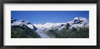 Framed Snow Covered Mountain Range Matterhorn, Switzerland