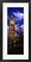 Framed Low Angle View Of Big Ben, London, England, United Kingdom