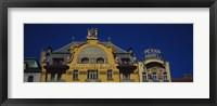 Framed High section view of a hotel, Grand Hotel Europa, Prague, Czech Republic