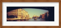 Framed City viewed through a bridge, Ponte Dell'Accademia, Venice, Veneto, Italy