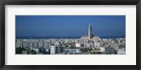 Framed High angle view of a city, Casablanca, Morocco
