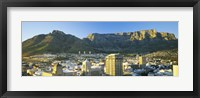 Framed High angle view of a city, Cape Town, South Africa