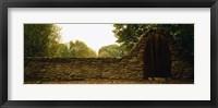 Framed Close-up of a stone wall, County Kilkenny, Republic Of Ireland