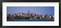 Framed Istanbul skyline, Turkey