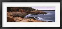 Framed Monument Cove, Mount Desert Island, Acadia National Park, Maine