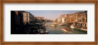 Framed Buildings along a canal, Grand Canal, Venice, Italy