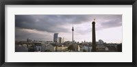 Framed Tower in a city, Berlin, Germany