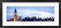 Framed Buildings in a city, Big Ben, Houses Of Parliament, Westminster, London, England