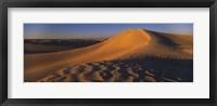 Framed Sand dunes in a desert, Douz, Tunisia