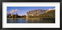 Framed Trees along a lake, Chateau de Versailles, Versailles, Yvelines, France