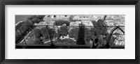 Framed High angle view of a city, Eiffel Tower, Paris, Ile-de-France, France