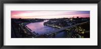 Framed Duoro River, Porto, Portugal