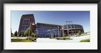 Framed Facade of a stadium, Lambeau Field, Green Bay, Wisconsin, USA