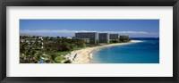 Framed Kaanapali Beach, Maui, Hawaii