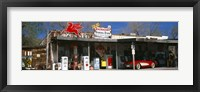 Framed Store with a gas station on the roadside, Route 66, Hackberry, Arizona
