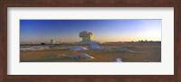 Framed White Desert, Farafra Oasis, Egypt